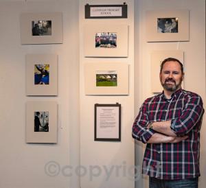 6 Judge Martin Clark alongside Lainshaw Primary exhibit