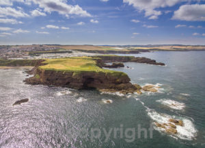 Eyemouth and St Abb's from the sea. Image courtesy of Ian Muir Photography