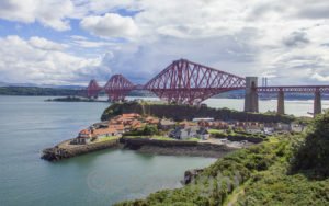 Forth bridges from Carlingnose Point. Image courtesy of Ian Muir Photography